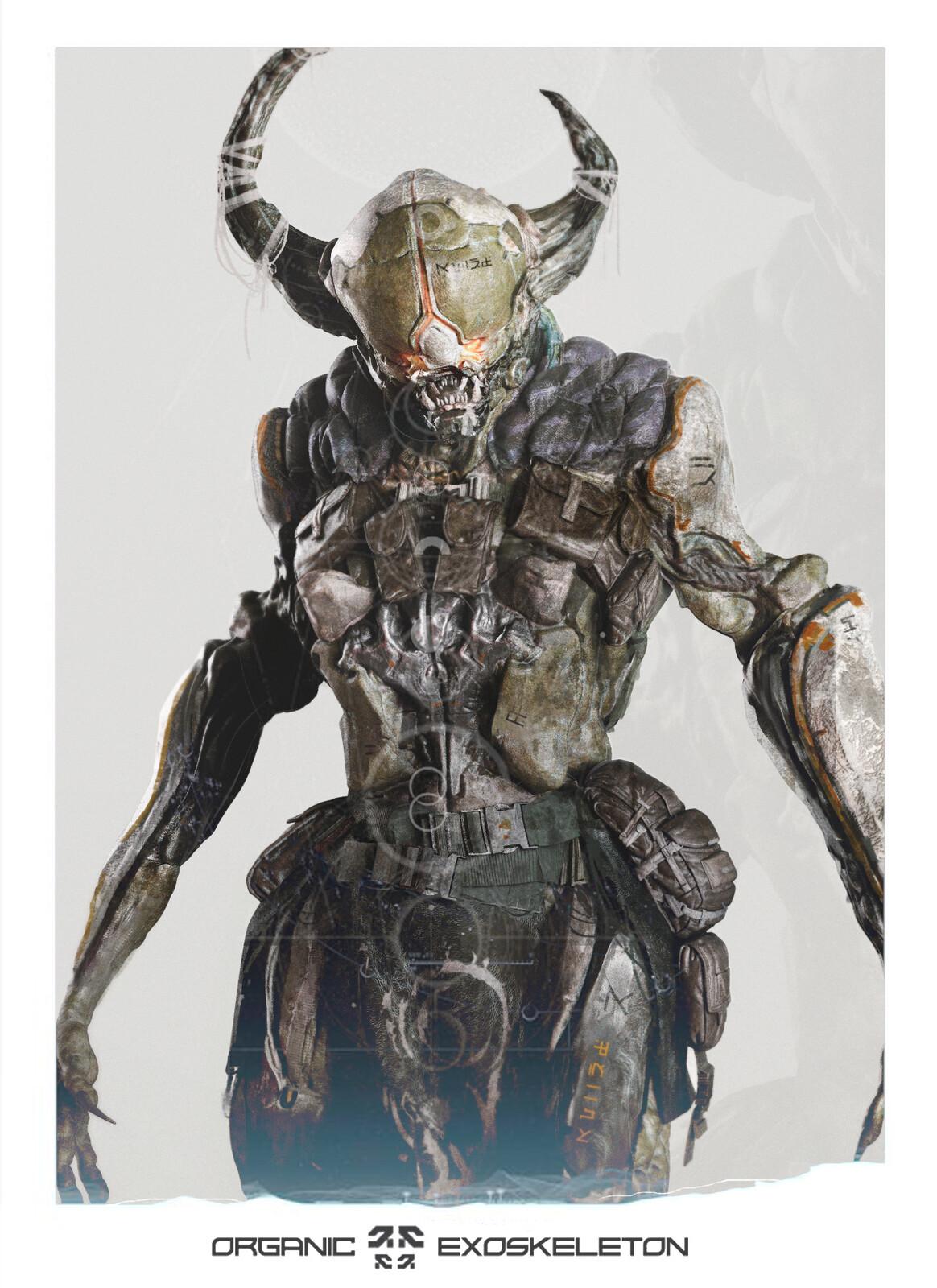 Alien Exoskeleton - Warlock