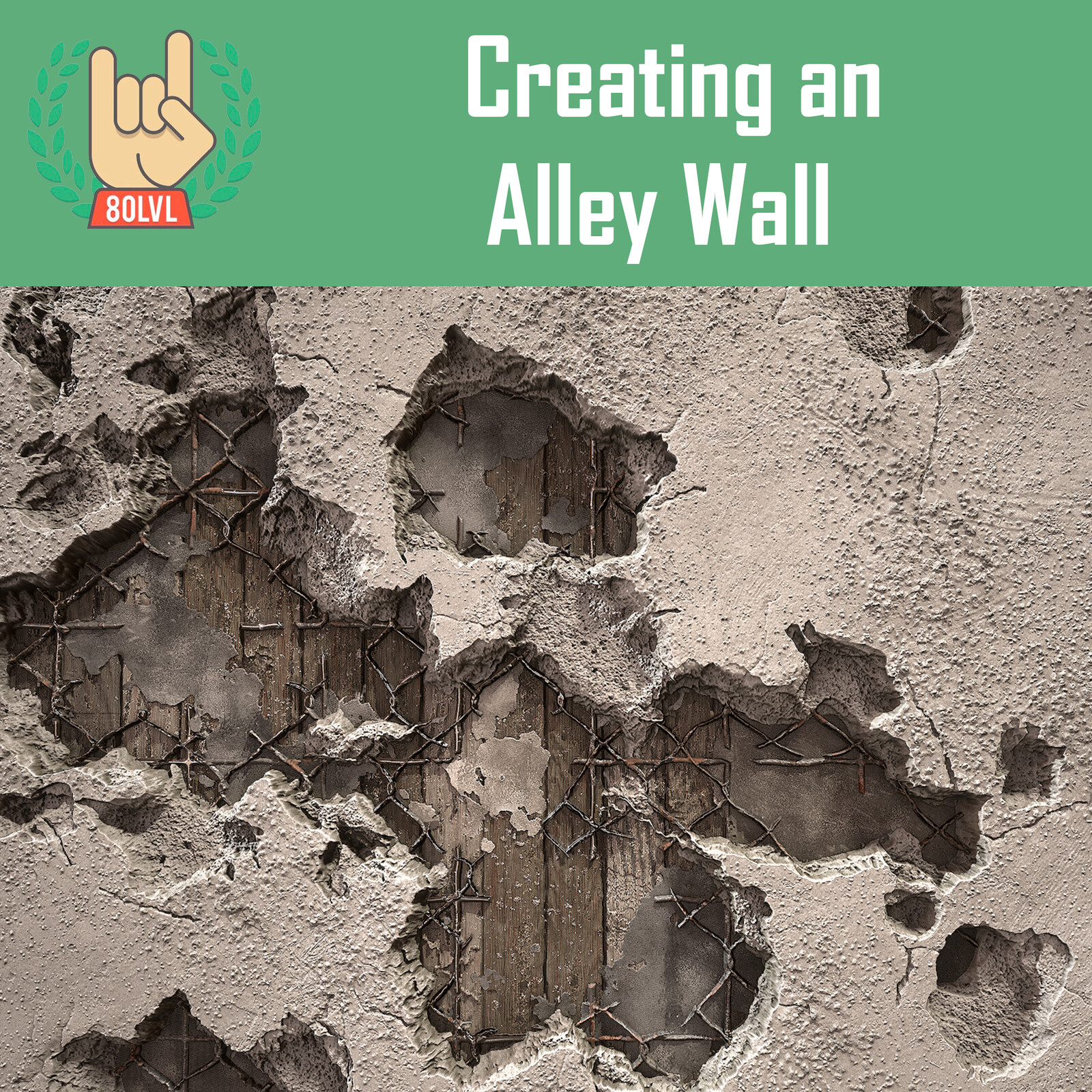 Creating a Layered Alley Wall in Substance Designer - 80 Level