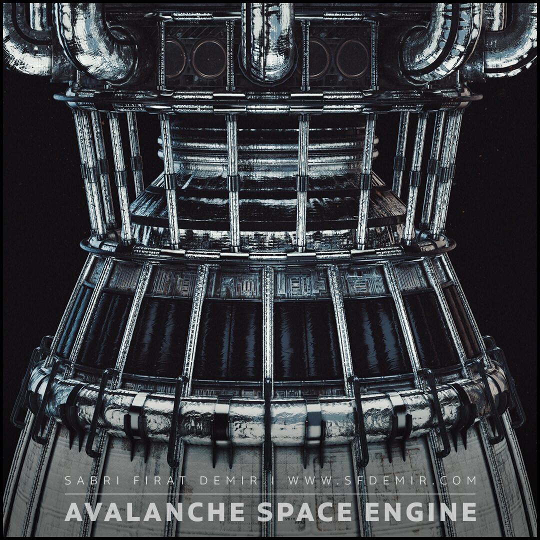 Avalanche Spaceship Engine