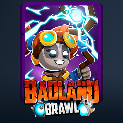 Badland Brawl - Card Art