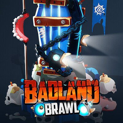 Badland Brawl - Tower Skins