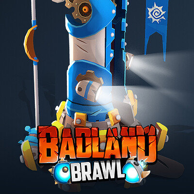 Badland Brawl - Tower