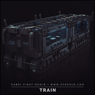 Sci-Fi Train