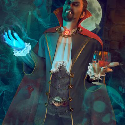 Marcos torres marcos torres arena the contest ilustracao vampiro versaofinal