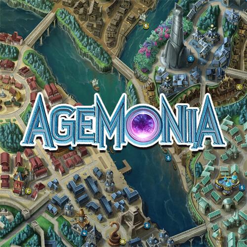 Map of Runedale (Agemonia)