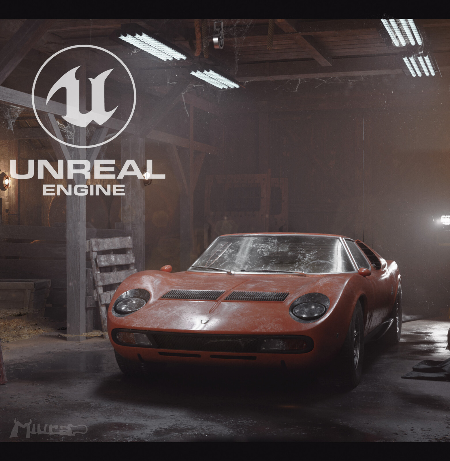"""The Barn Find"" - Lamborghini Miura Unreal Engine"