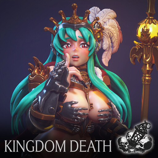 Kingdom Death - Pin Up Kingsman