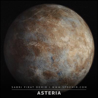 Planet Asteria Material
