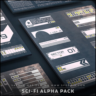 SFDEMIR Sci-Fi Decal Pack