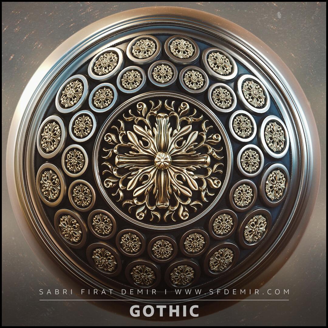 PBR Gothic Pattern