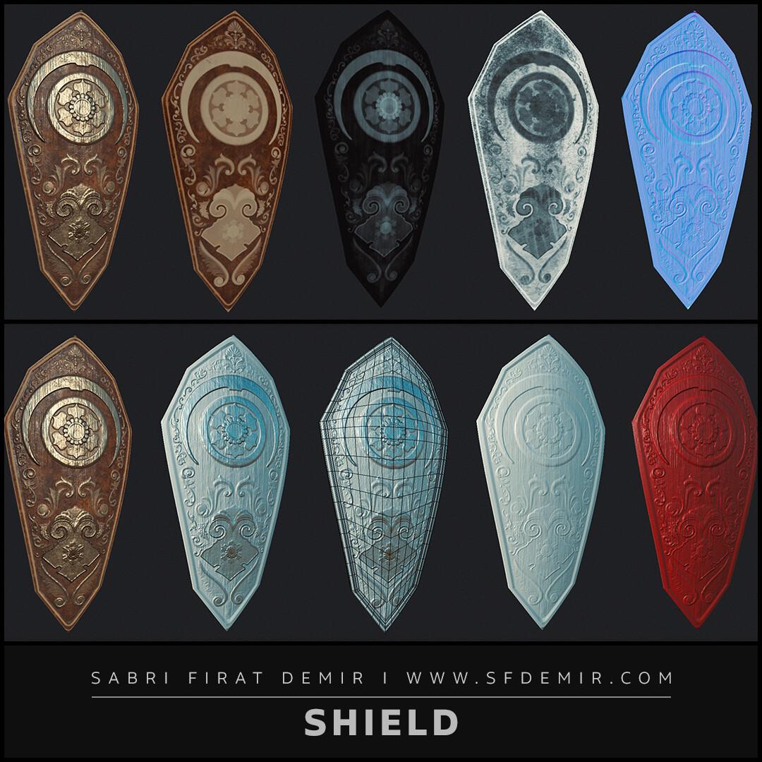 Old Paladin Shield