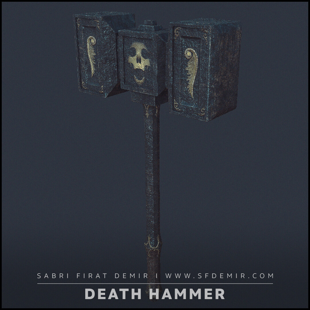 Golden Death Hammer