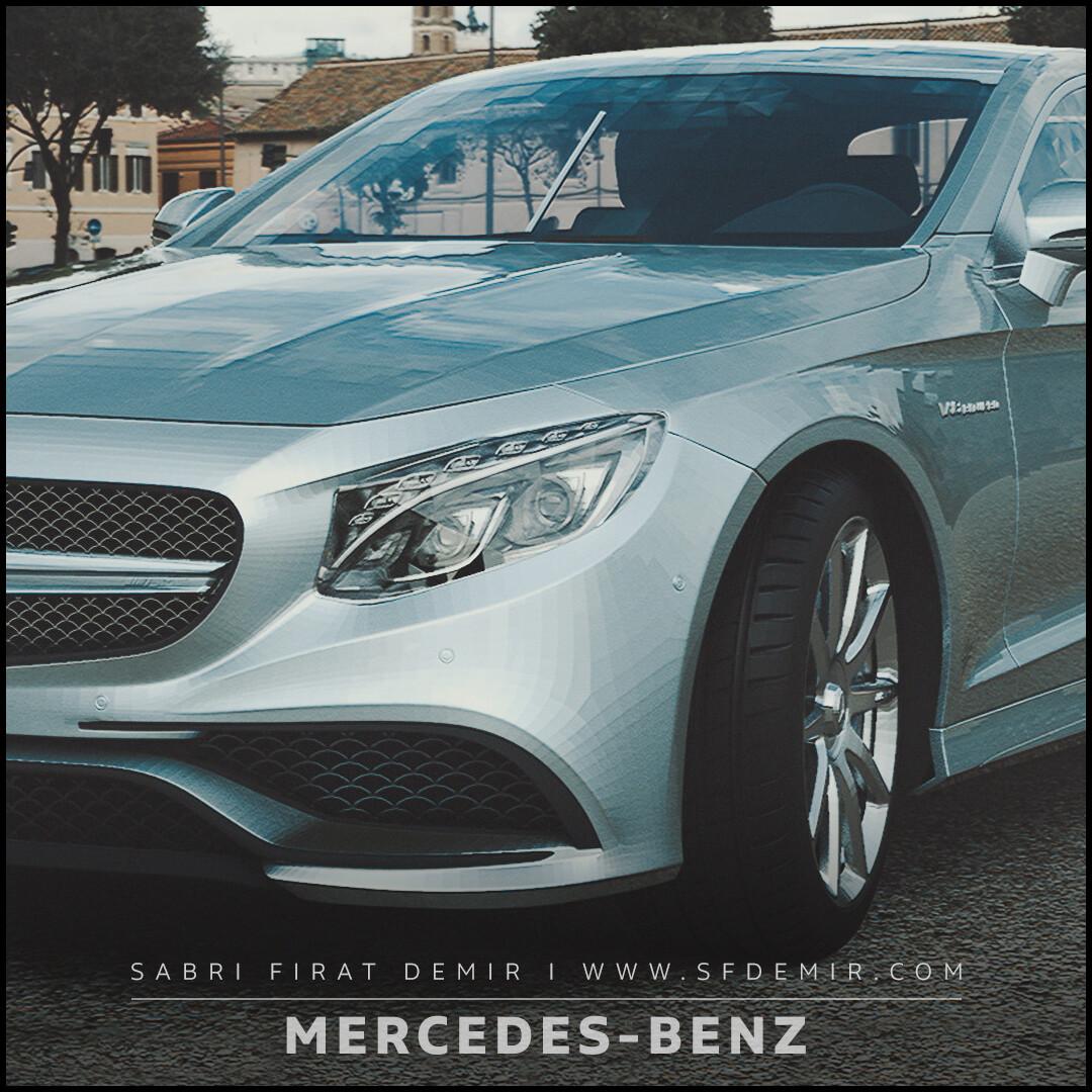 Mercedes Sunshine Render Test