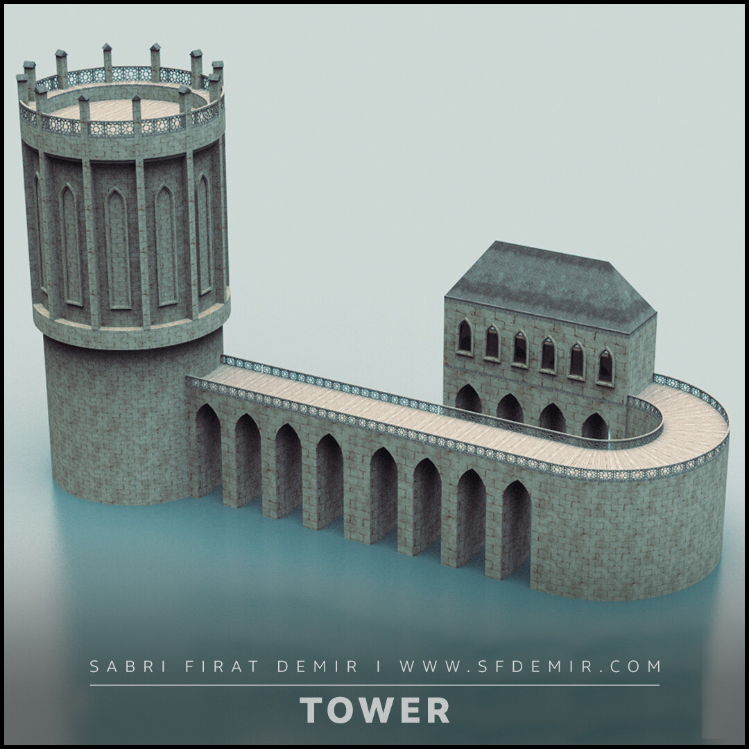 Medieval Watch Tower