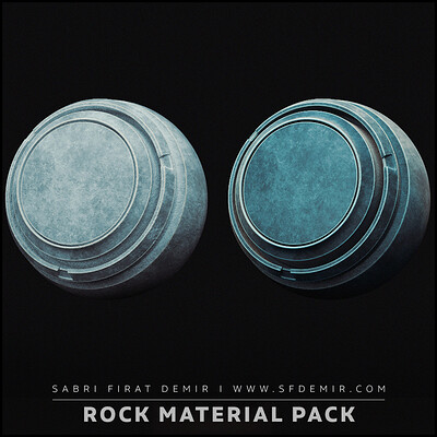 4 Clean Rock Smart Material Pack
