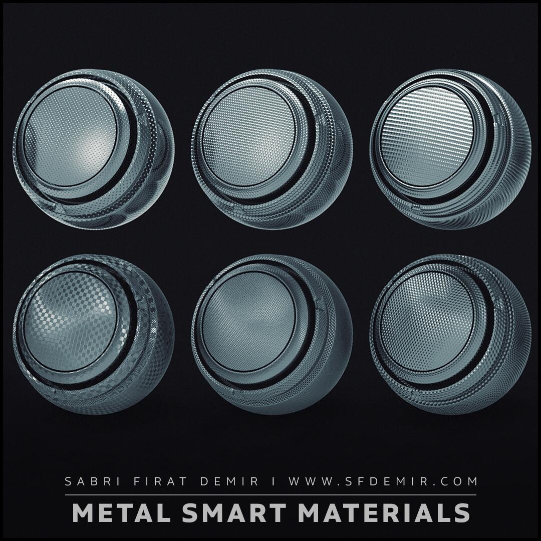 10 Metal Smart Material Pack