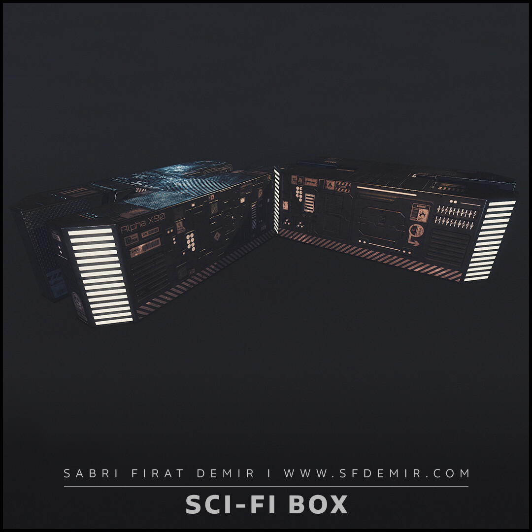 Alpha X90 Sci-Fi Container