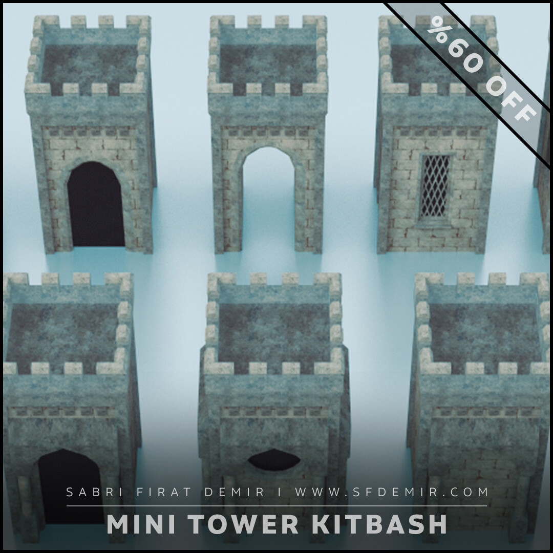 Medieval Small Tower Pack