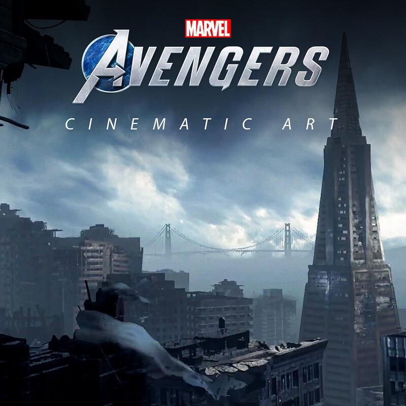 Marvels Avengers - Cinematic Art