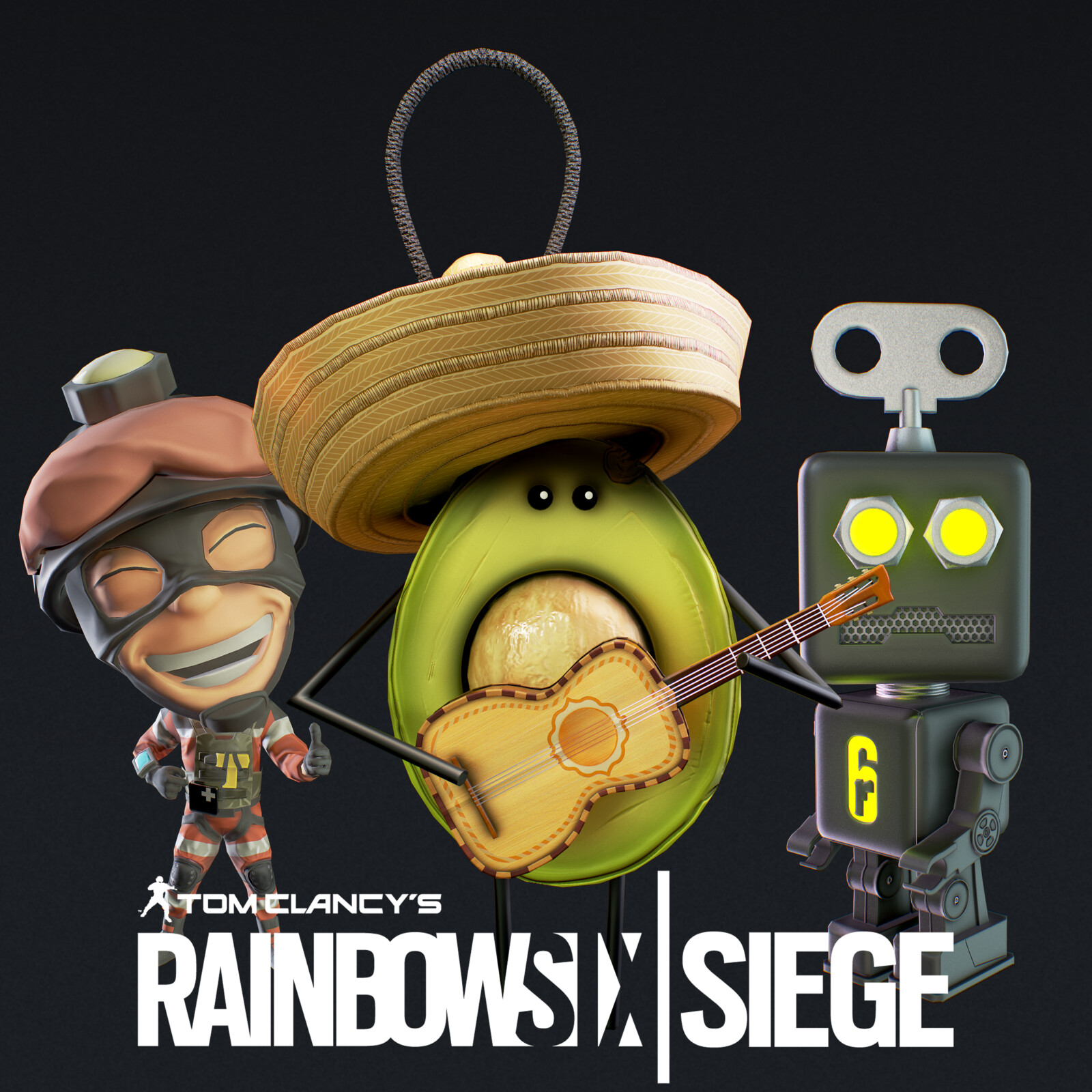 Rainbow Six | Charm Series # 1