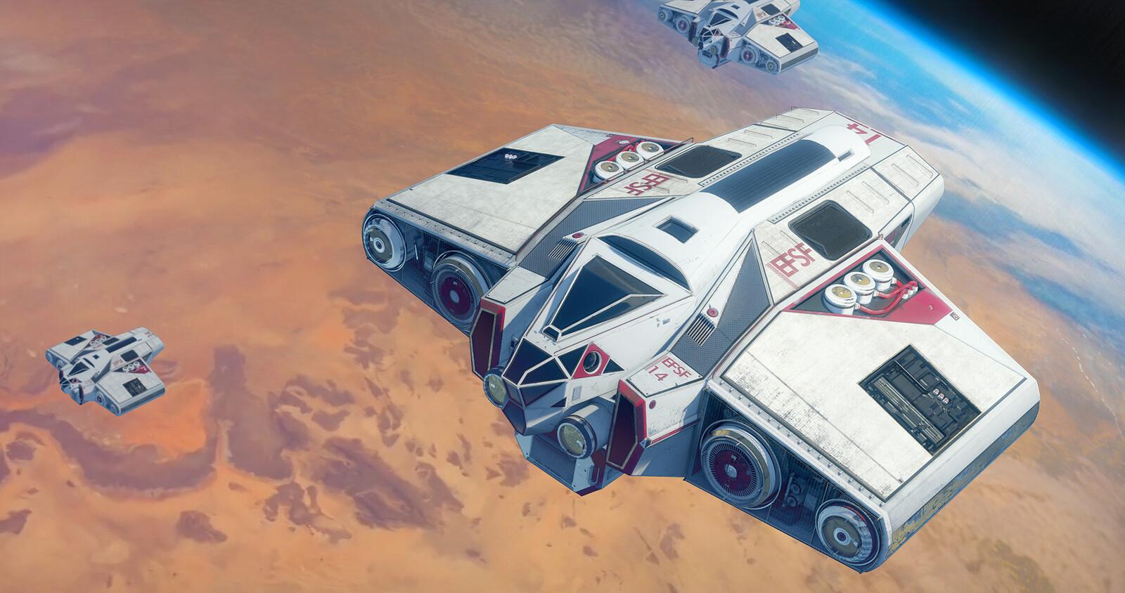 EFSF Cargo Spaceship