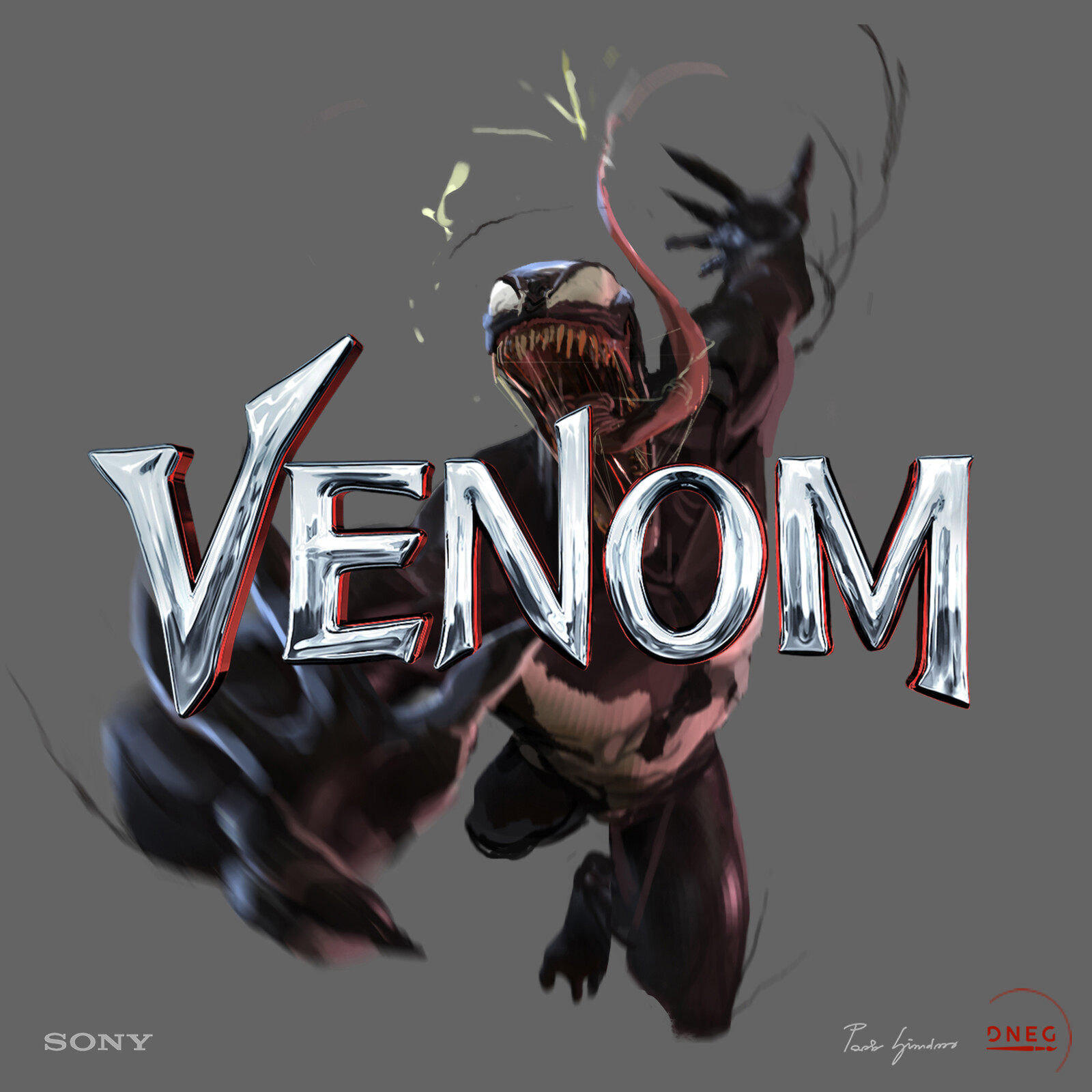 """Venom I"", Character and Transformation Studies"