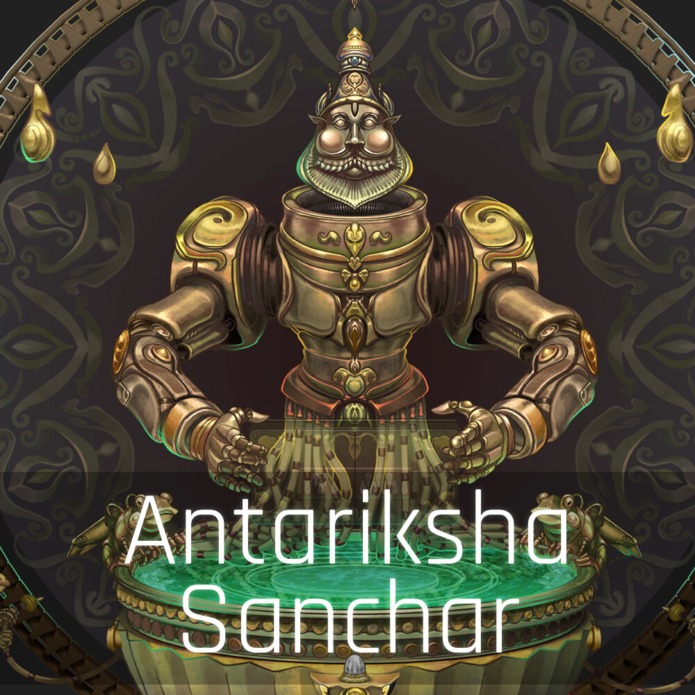 Antariksha Sanchar - Keeping time Automaton