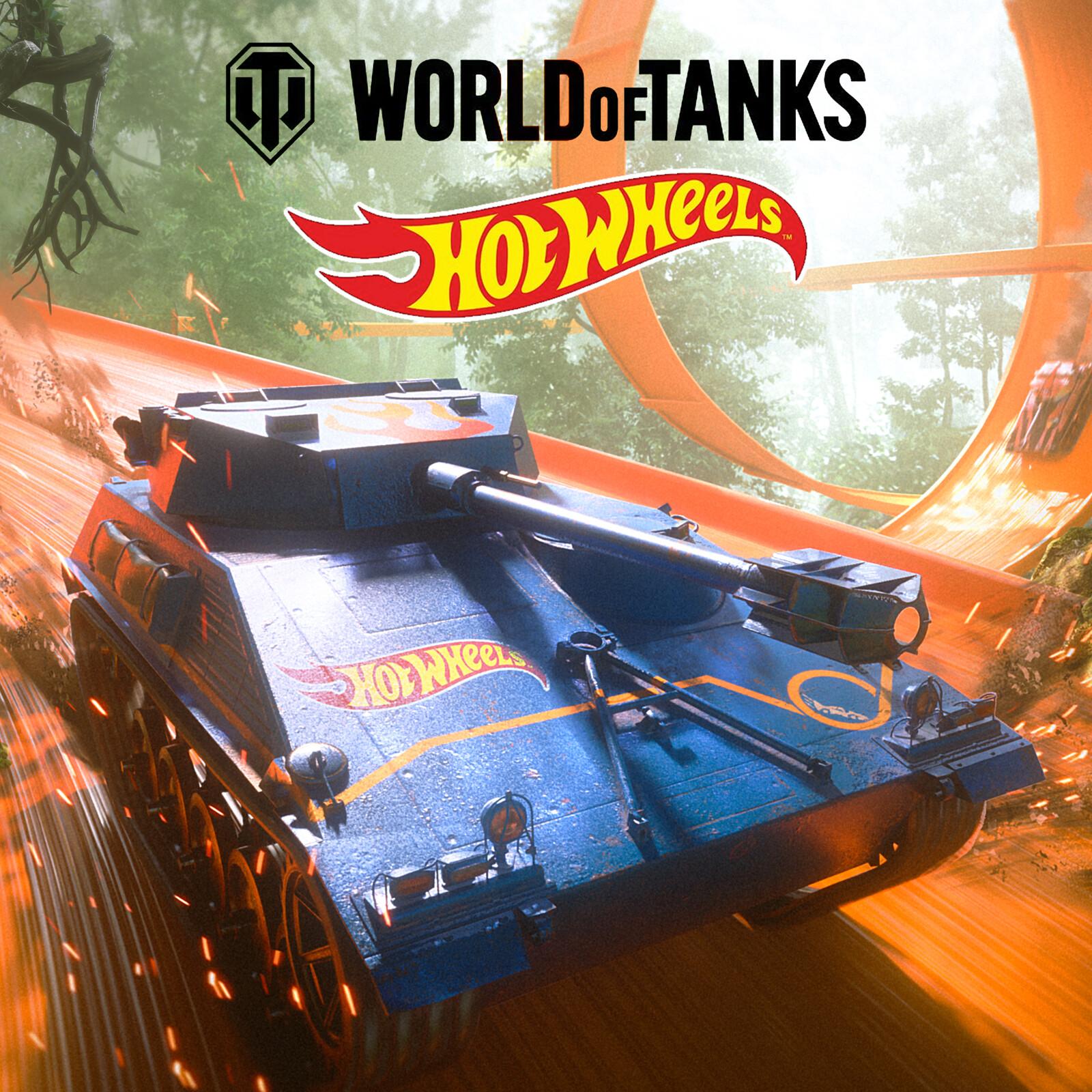 World of Tanks - Hot Wheels Promotional Art