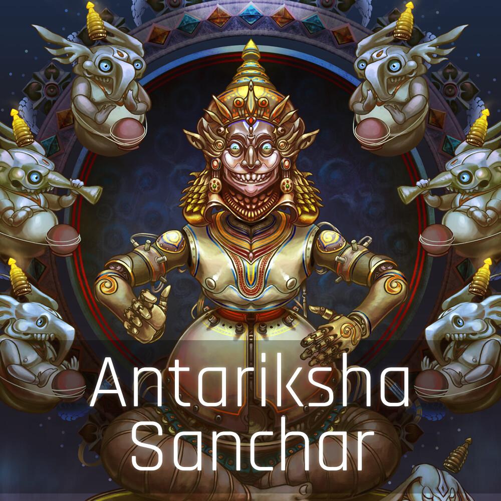 Antariksha Sanchar - Percussion Automaton