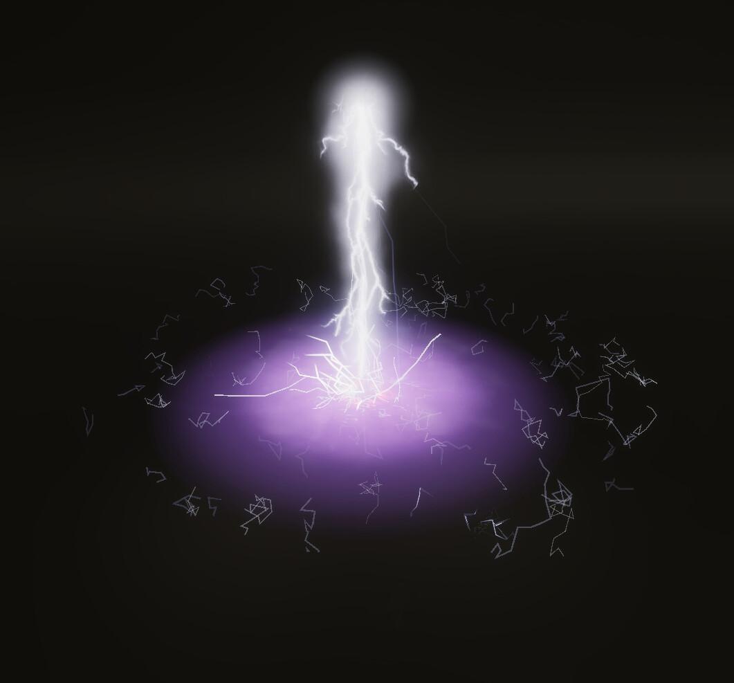 Unity VFX Practice - ThunderStrike AOE