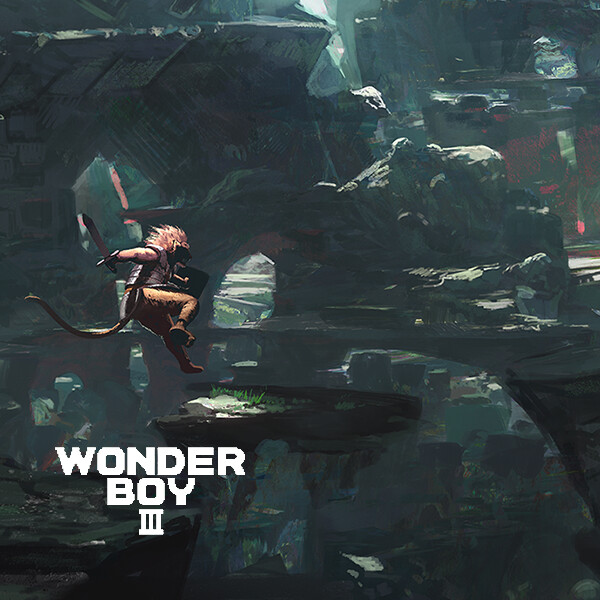 Wonderboy 3 Lion Man