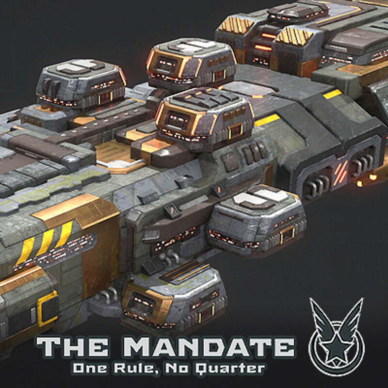 Battle Ship - Rebel Faction