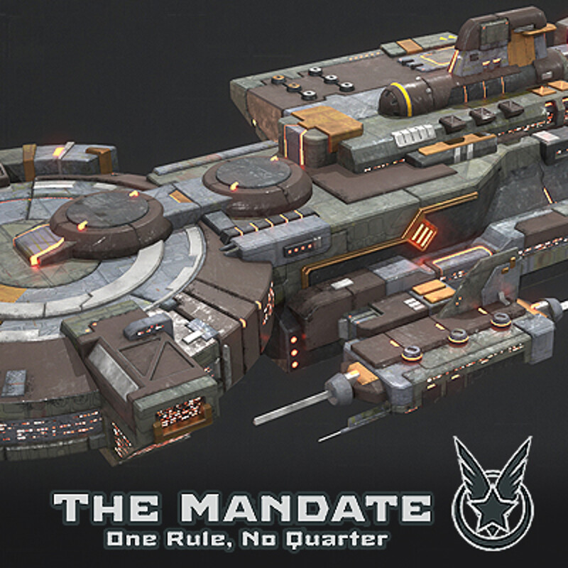 Battle Cruiser - Rebel Faction