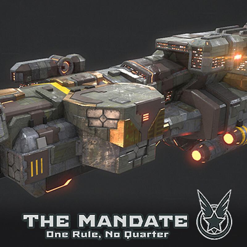 Heavy Cruiser - Rebel Faction