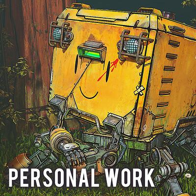 Paul presley paul presley th robot scene