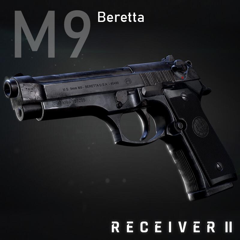 """Beretta M9 """"Old warrior"""""""