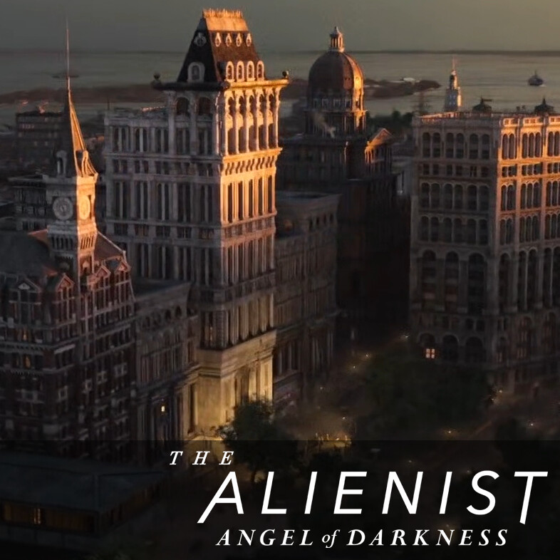 Newspaper Row - The Alienist: Angel of Darkness