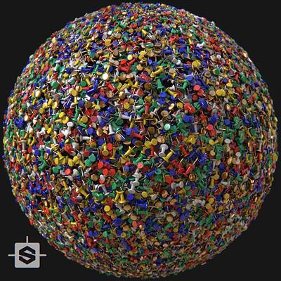 Maxime roch maxime roch thumbtacks sphere beauty thumbnail v002