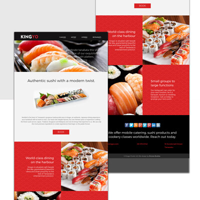 Kingyo Web + Branding