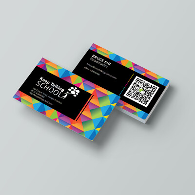 Keep Talking School - Business Card Collection