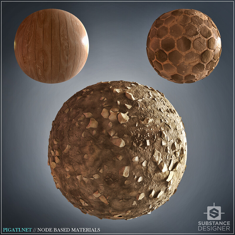 Node Based Materials