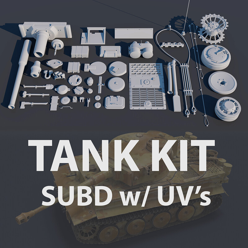 Tank Kit - Sub D w/ UV
