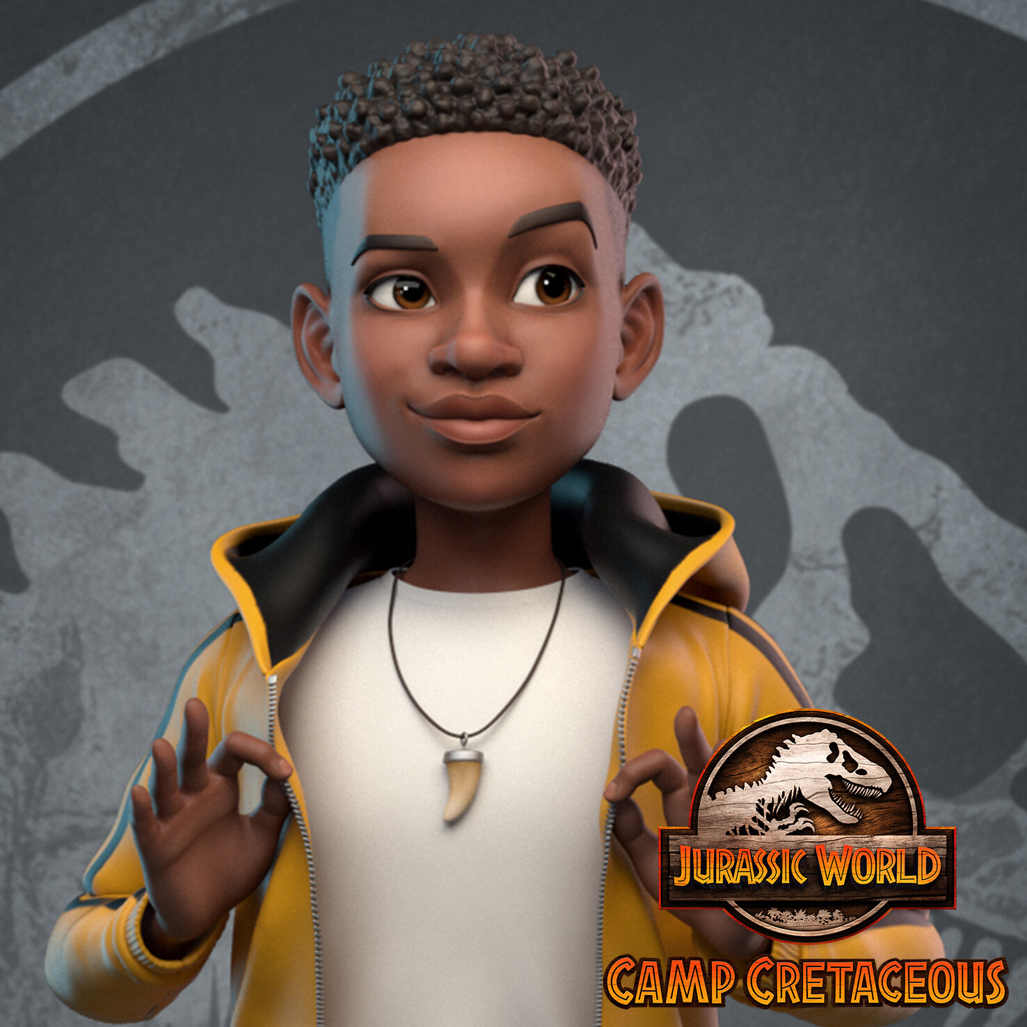 Jurassic World: Camp Cretaceous - Character Modeling