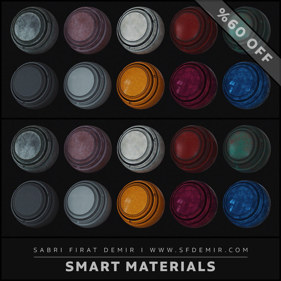 High Quality Smart Material Pack 02