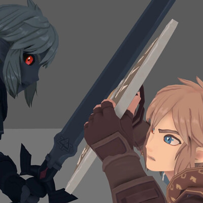Link VS Dark Army Animation (Work In Progress - Milestone 2)