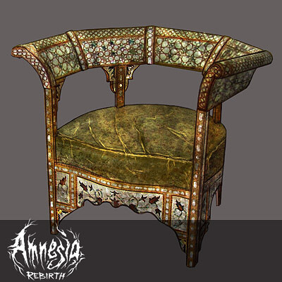 Amnesia Rebirth Props: Various Furniture Pieces