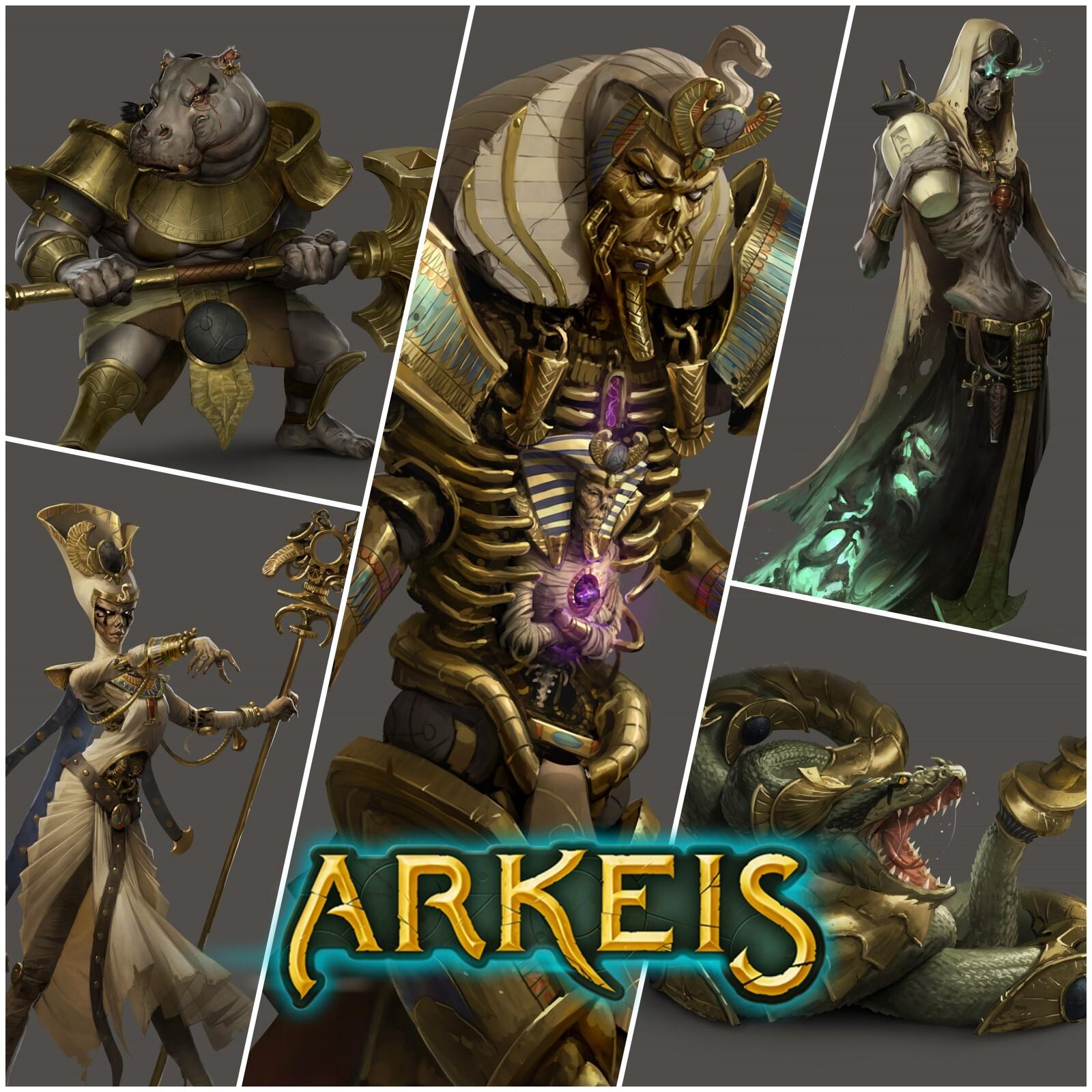 Arkeis : Monstres et ennemis