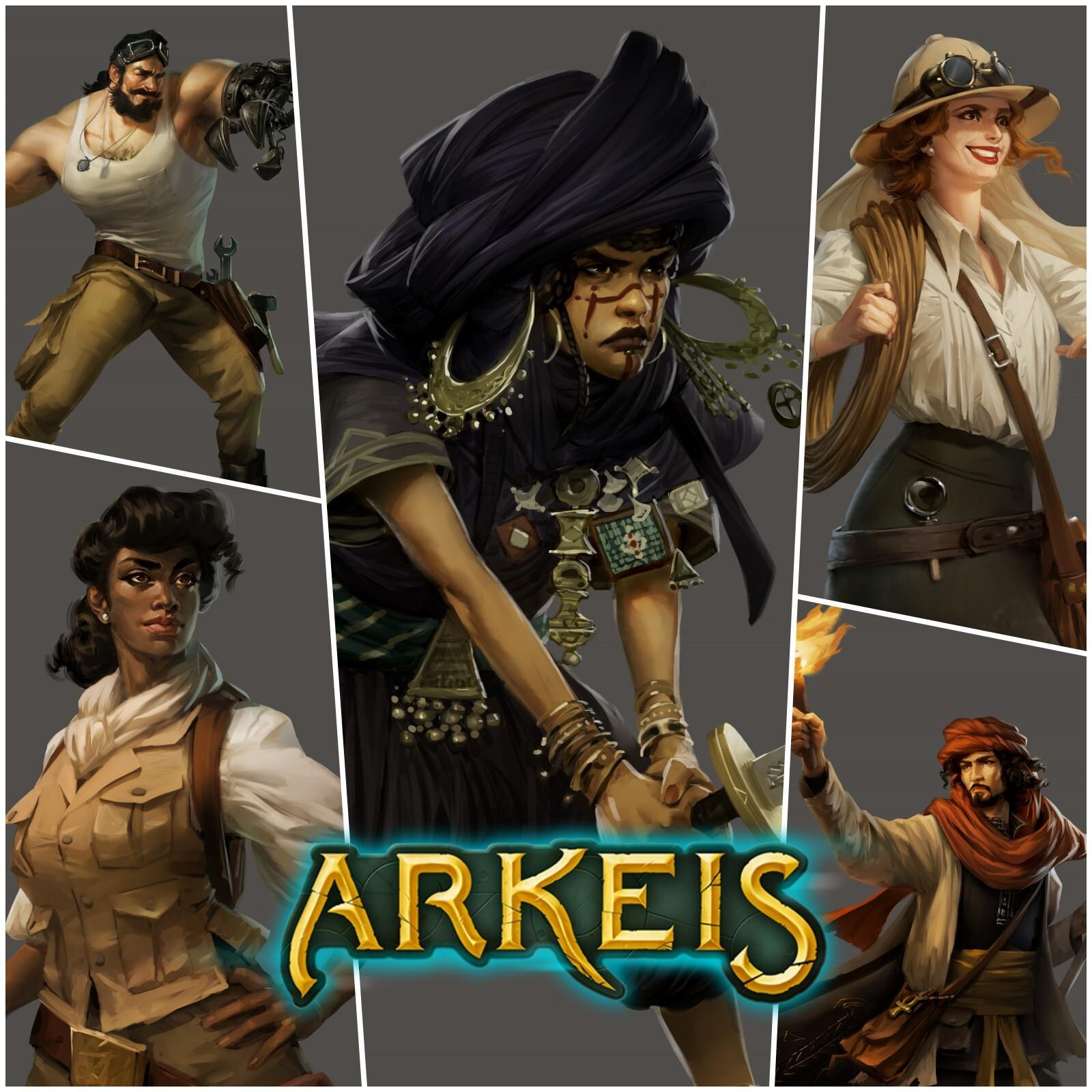 Arkeis : héros