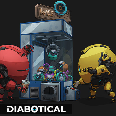 Clawmachine - Diabotical ingame art