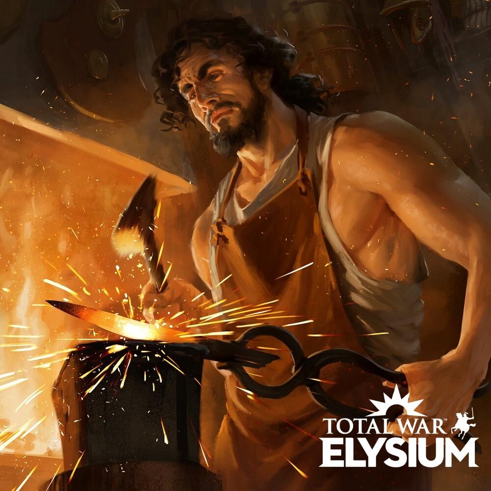 Total War Elysium : Achaean Bronzeworker